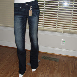 NWT AMERICAN EAGLE Kick Boot Super Stretch Jeans 6